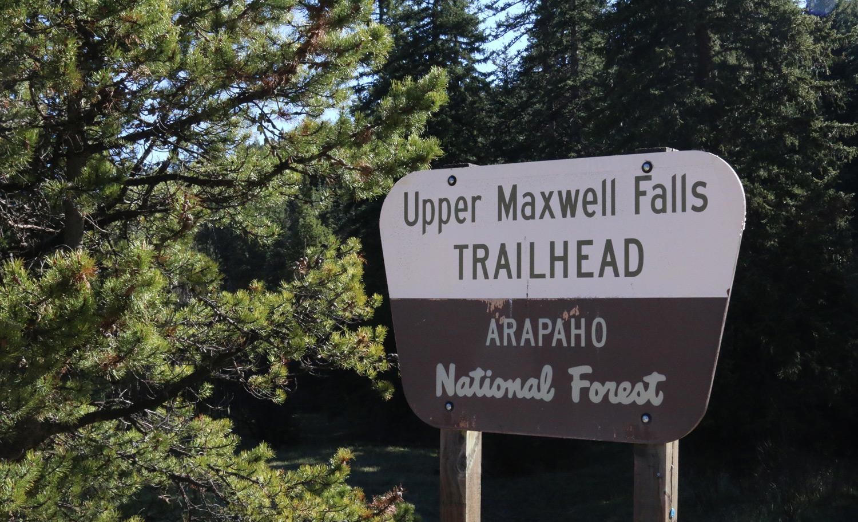 upper-maxwell-falls-trailhead - Evergreen Colorado