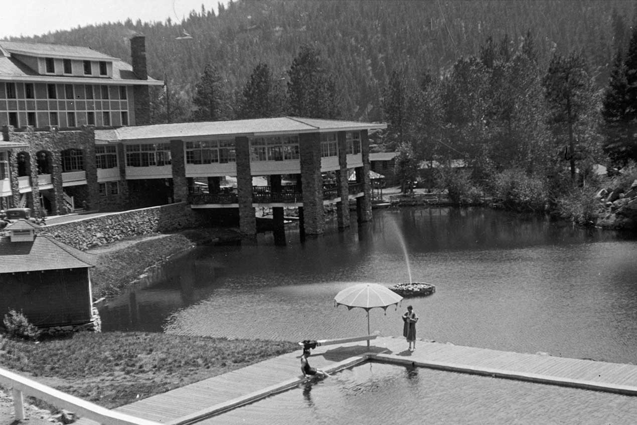 Troutdale in The Pines Hotel Evergreen CO