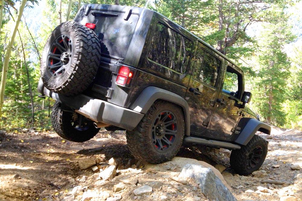 Evergreen area jeep trails