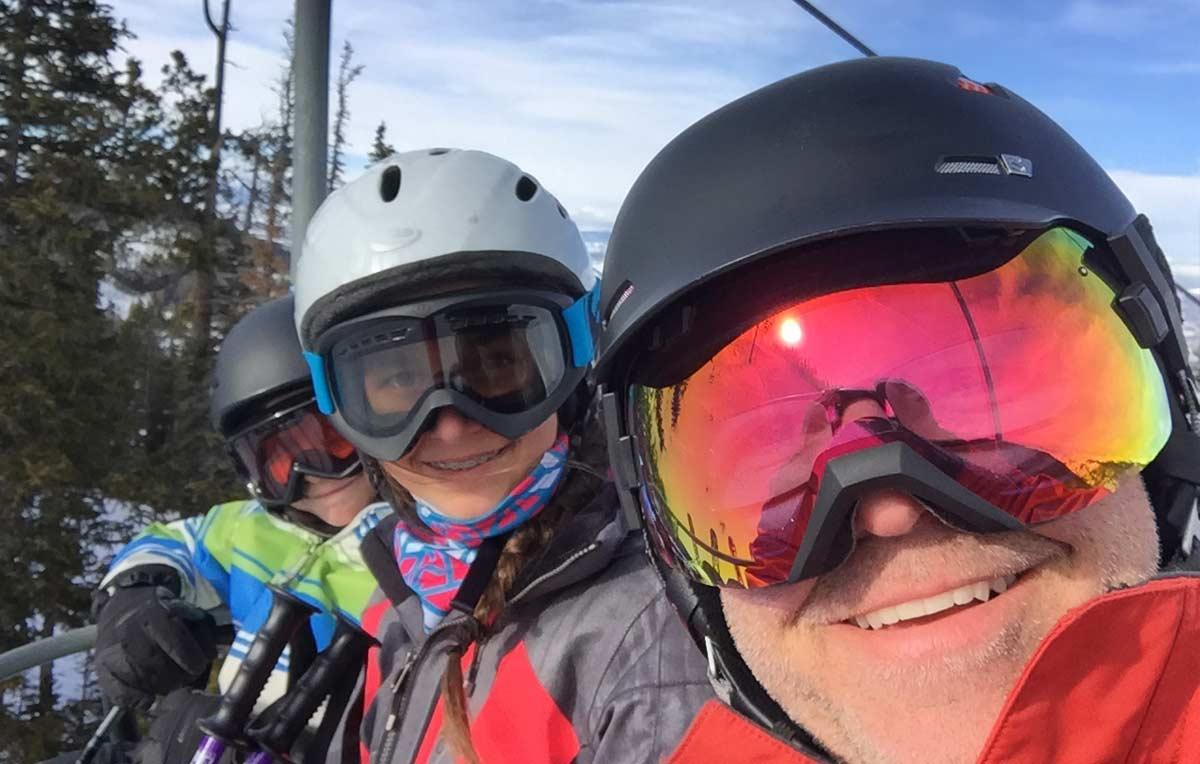 Skiing Near Conifer