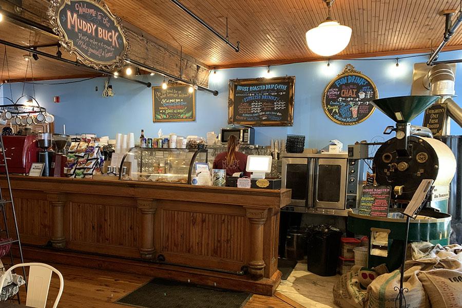 muddy buck cafe coffee shop evergreen co