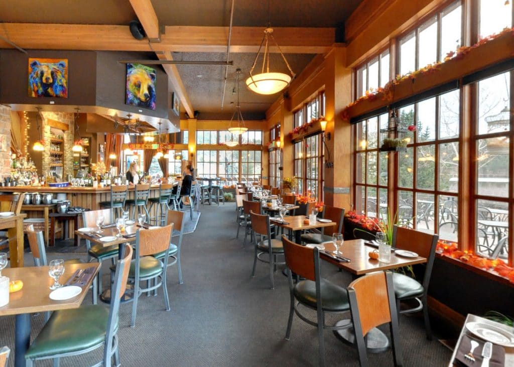 Willow Creek Restaurant Interior
