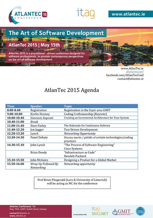 atlantec schedule
