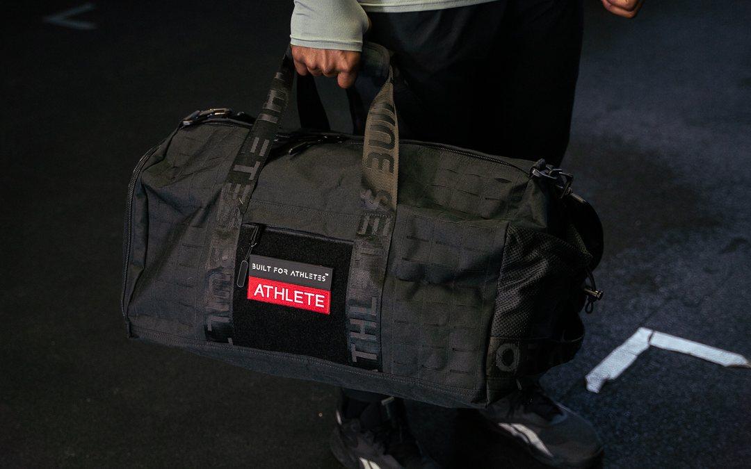 built for athletes duffel bag