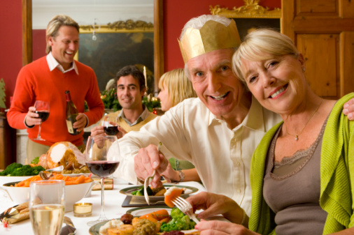 Avoid overeating at Christmas parties to reduce risk for weight gain in the New Year.