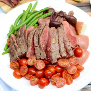 Dijon Steak Nicoise Salad