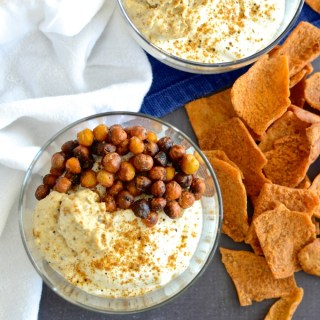 Crispy Chickpea & Greek Yogurt Protein Bowl
