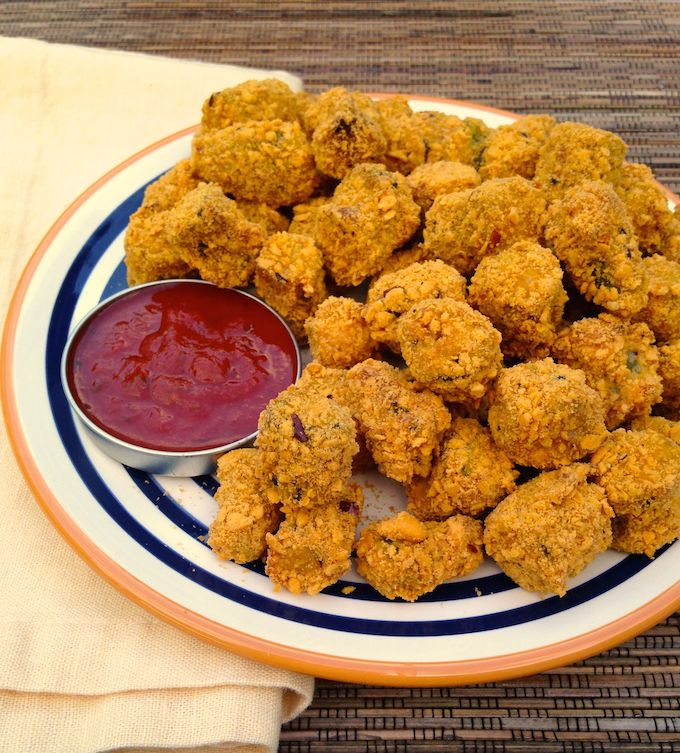 Goldfish-Crusted Okra | www.theeverykitchen