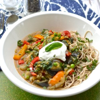 Red Lentil and Summer Vegetable Thai Curry | www.theeverykitchen.com