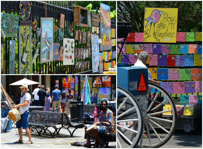 Jackson Square, New Orleans | Danielle Does New Orleans! | theeverykitchen.com