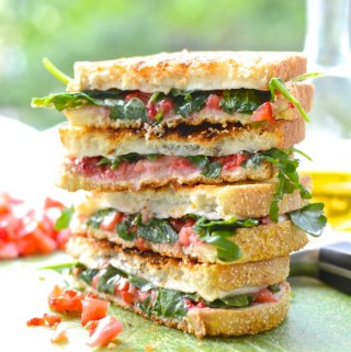 Strawberry & Arugula Grilled Cheese