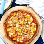 Summer Stone Fruit & Prosciutto Pizza