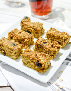 Sunny Pumpkin Cherry Breakfast Bars from the kitchen of www.theeverykitchen.com