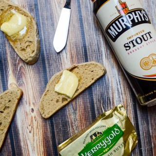 Fresh Irish Stout Bread, made with Murphy's and slathered with Kerrygold | www.theeverykitchen.com