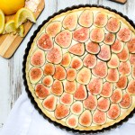 Fresh Fig & Lemon Cream Tart
