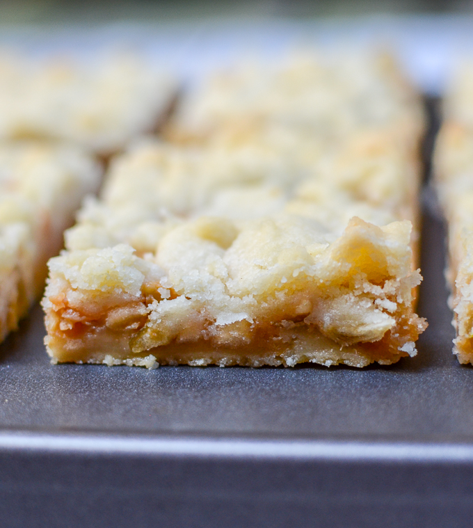 Caramel Apple Butter Bars | www.theeverykitchen.com