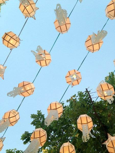 Chiang Mai lanterns | www.theeverykitchen.com