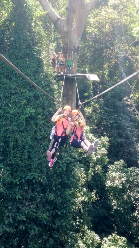 jungle ziplining | www.theeverykitchen.com