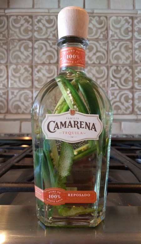 Jalapeno-Lime Infused Tequila | www.theeverykitchen.com