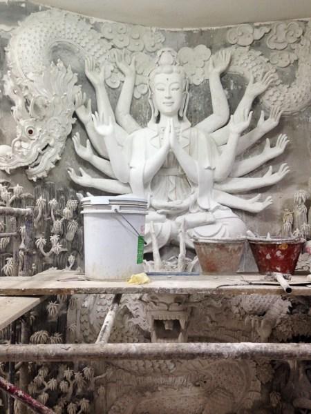 Inside the Big Buddha Temple, Chiang Rai, Thailand | www.theeverykitchen.com