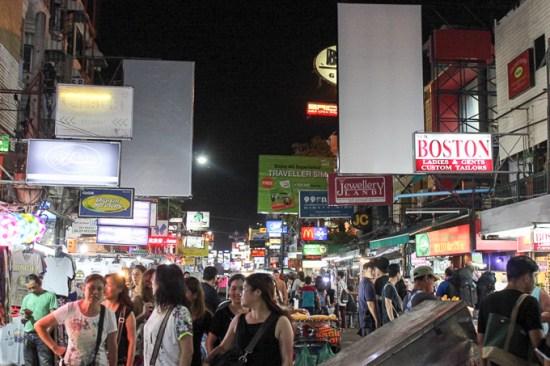 Khao San Road, Bangkok | www.theeverykitchen.com