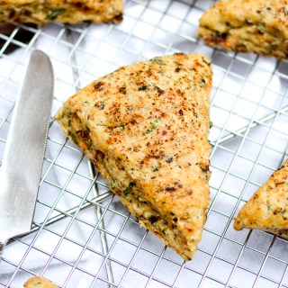Sun-Dried Tomato and Olive Ricotta Scones | www.theeverykitchen.com