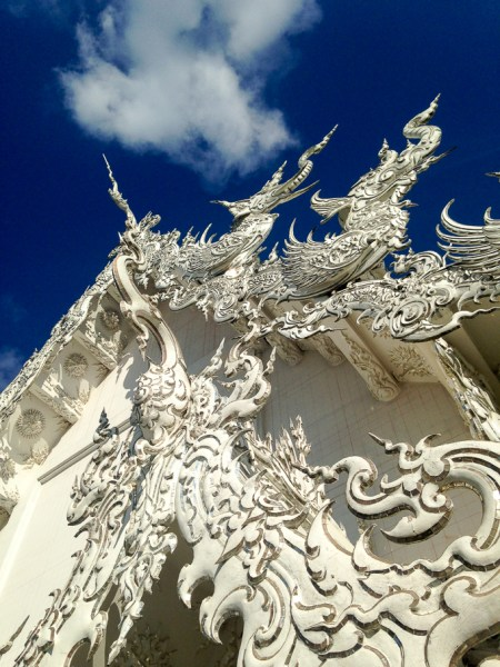White Temple, Chiang Rai, Thailand | www.theeverykitchen.com