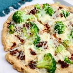 Broccoli Chicken Pizza with Sun-Dried Tomatoes