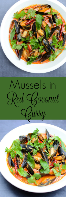 You won't have any misgivings about this recipe for delightfully creamy and smoky Mussels in Red Coconut Curry. Except that maybe you can't get enough! | theeverykitchen.com