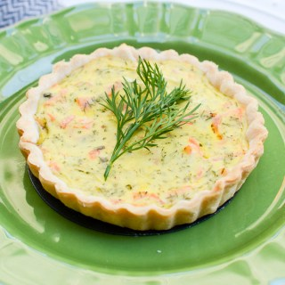 Smoked Salmon, Dill, and Horseradish Tartlets