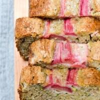 Easy Rhubarb Zucchini Bread
