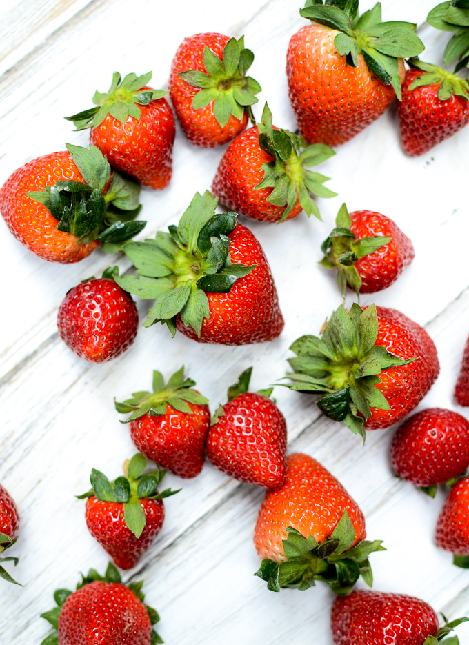 Fresh strawberries to go with my Paleo Southern Biscuits | theeverykitchen.com
