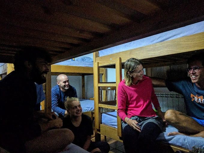 Every night is a sleepover on The Camino | theeverykitchen.com