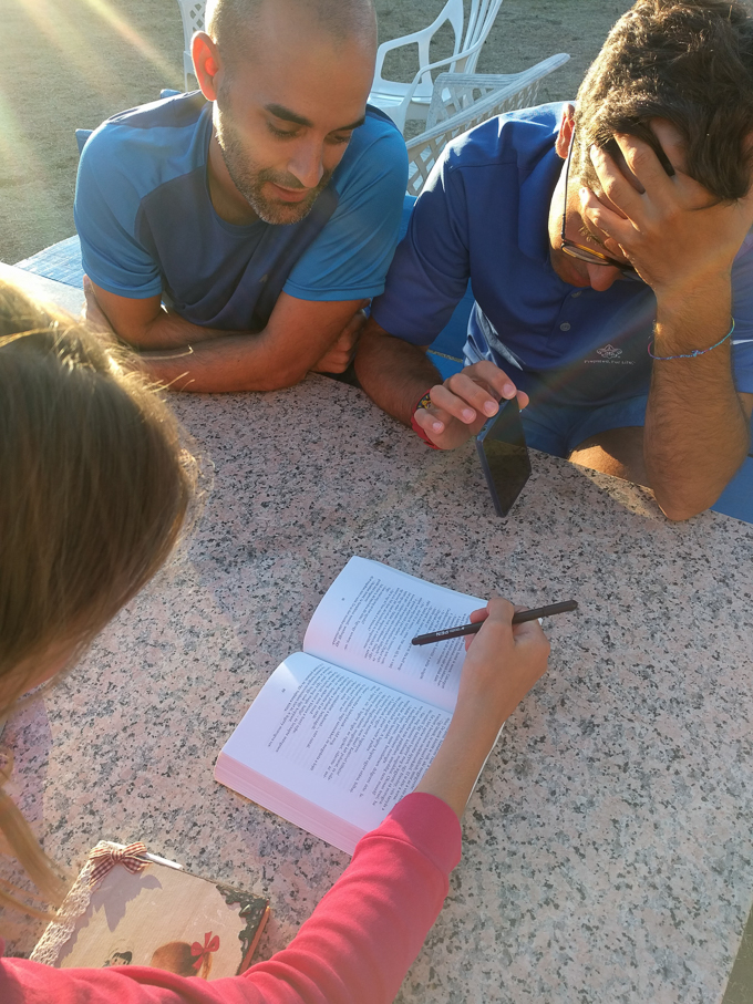 Learning one another's language on The Camino de Santiago | theeverykitchen.com