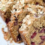 Skinny Peanut Butter and Blackberry Bread is a sophisticated take on the classic PB&J. #AD This easy recipe is made with SPLENDA® Naturals Sugar & Stevia Blend, is filled with whole grains, and contains zero butter. | theeverykitchen.com