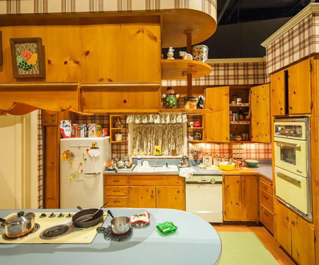 Betty Draper's Kitchen in Mad Men | theeverykitchen.com