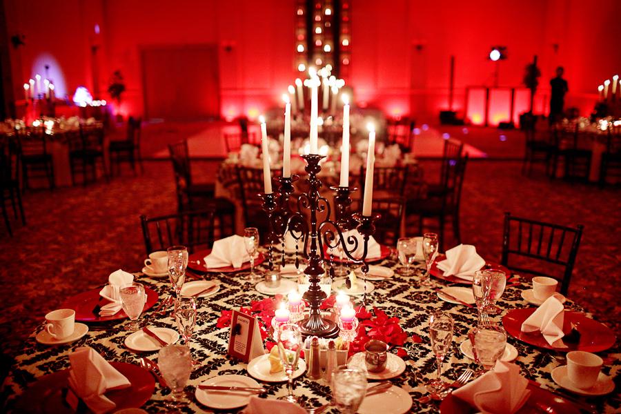 Elegant Black  Red Florida Wedding  Every Last Detail