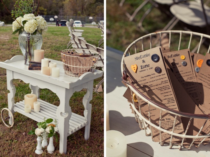 Yellow  Gray Outdoor DIY Wedding Part 1  Every Last Detail