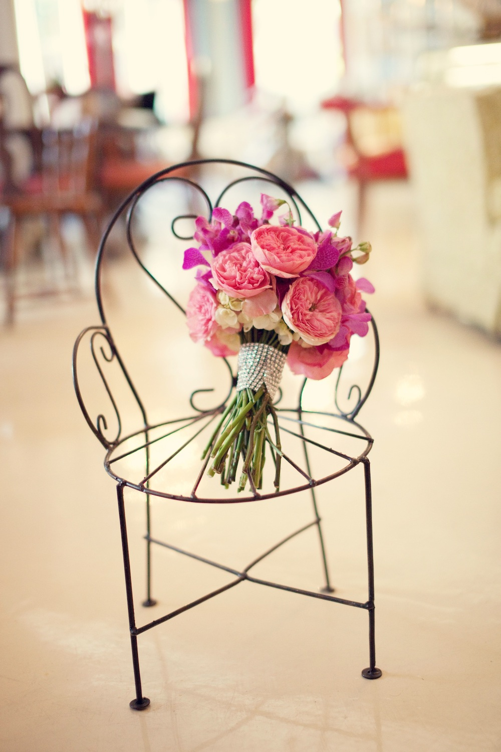 A Twofold Vintage Pink Inspiration Shoot  Every Last Detail
