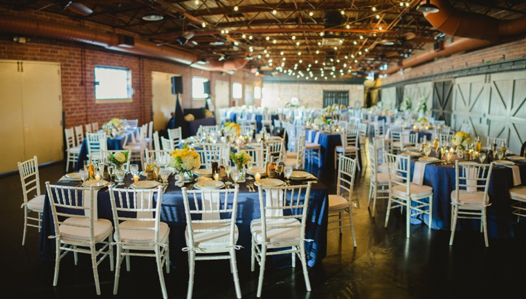Rustic Chic Navy And Yellow Wedding Every Last Detail