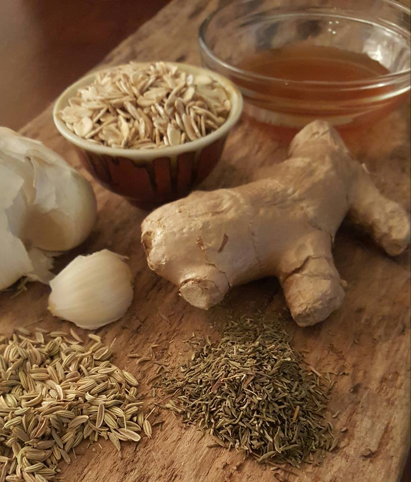 The Healing Kitchen – a reference chart with 10 common ingredients