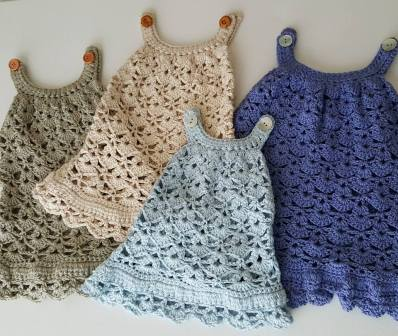 crocheted dresses