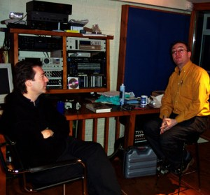 Writer Alan Hewitt interviews Steve back in 2003 (Copyright Evil Jam)