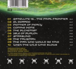 Iron Maiden - The Final Frontier - CD Cover - Rear