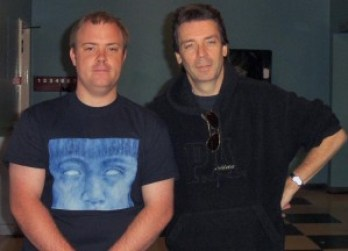Steve and I at Wolverhampton (Photo Copyright The Evil Jam)