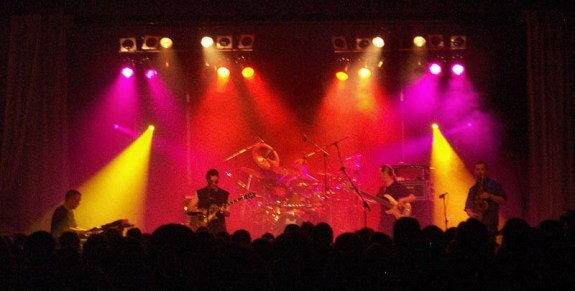 The Band Playing during the First Set (Photo Copyright Evil Jam)