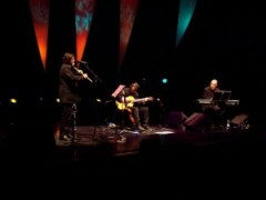 Steve Hackett Trio at QEH(Copyright Evil Jam)