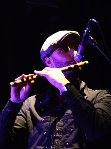 Rob Townsend and his Flute (Photo Copyright Evil Jam)