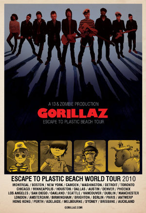 Gorillaz World Tour