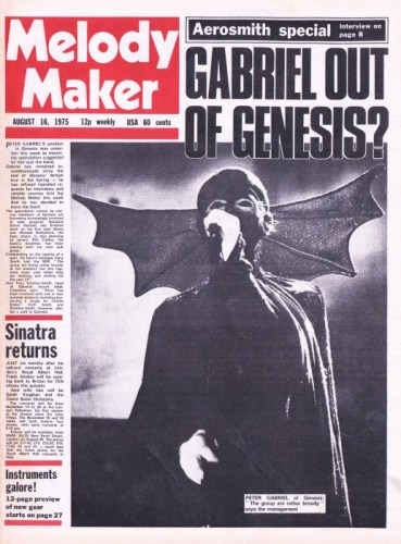 Melody Maker 16th August (c/o The Genesis Archive)